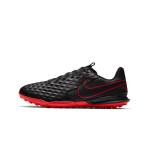 """nike tiempo legend 8 academy tf junior """"black x chile red pack"""" (at5736-060)"""