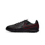 """nike tiempo legend 8 club tf """"black x chile red pack"""" (at5883-060)"""