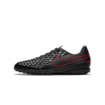 """nike tiempo legend 8 club tf """"black x chile red pack"""" (at6109-060)"""
