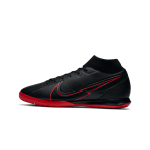 """nike mercurial superfly 7 academy ic """"black x chile red pack"""" (at7975-060)"""