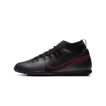 """nike mercurial superfly 7 club ic junior """"black x chile red pack"""" (at8153-060)"""