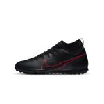 """nike mercurial superfly 7 club tf junior """"black x chile red pack"""" (at8156-060)"""