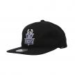 mitchell & ness team logo snapback bucks (intl462-milbuc-blk)