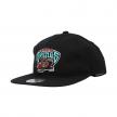 mitchell & ness team logo snapback grizzlies  (intl462-vangri-blk)