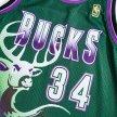 mitchell & ness nba swingman jerseys milwaukee bucks - ray allen #34 (smjygs18181-mbudkgn9)