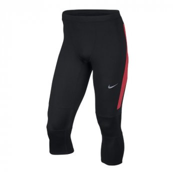 spodnie nike df essential 3/4 tight (644254-017)