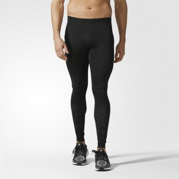 legginsy adidas supernova long tights m czarne
