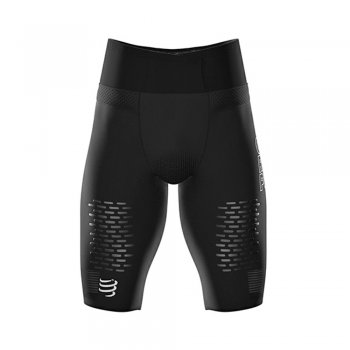 spodenki compressport trail running under control short m czarne