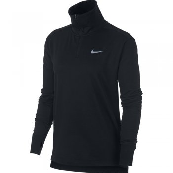 bluzka nike therma-sphere half-zip top w czarna