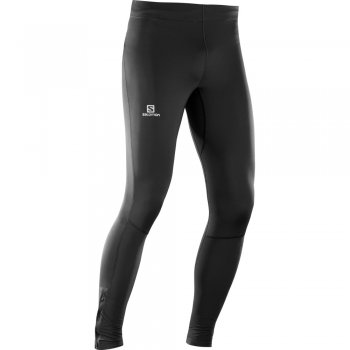 legginsy salomon agile long tight m czarne