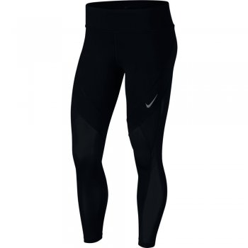 legginsy nike epic lux 7/8 tights w czarne