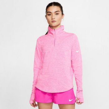 bluza nike therma sphere element top half-zip w różowa