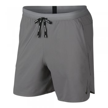 spodenki nike flex stride short 7in 2 in 1 m szare