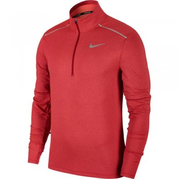 bluza nike element top half-zip 3.0 m czerwona