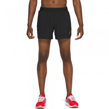 spodenki asics road 5in short performace m czarne