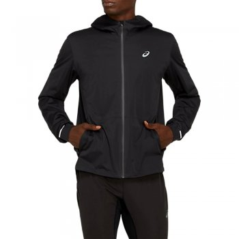kurtka asics winter accelerate jacket m czarna