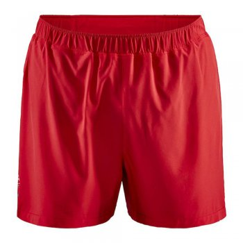 spodenki craft adv essence 5 stretch shorts m czerwone
