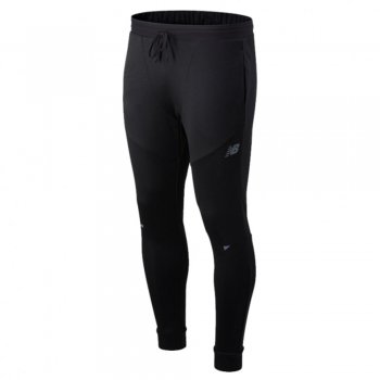 spodnie new balance q speed run pant m czarne
