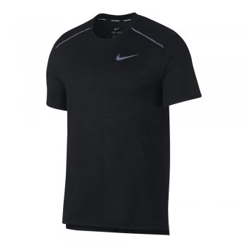 koszulka nike breathe rise 365 short-sleeve top m czarna