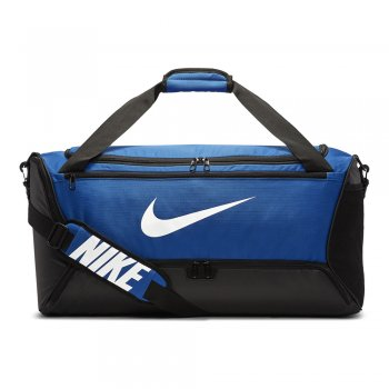 torba nike brasilia training duffle bag medium (60l) niebieska