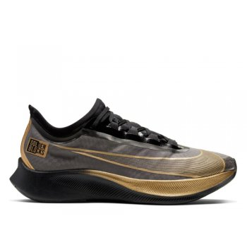 buty nike zoom fly 3 golden blocks m szaro-złote