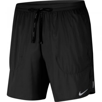 spodenki nike flex stride brief  short 7in m czarne