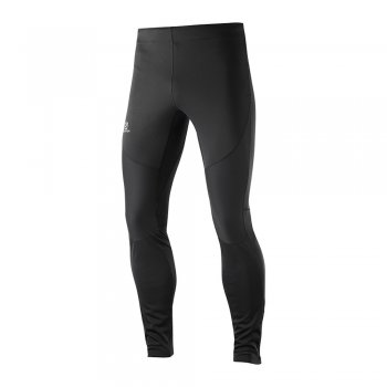 getry salomon trail runner windstopper tight m czarne